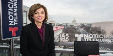 Helen Aguirre Ferré, portavoz del gobernador de la Florida. Foto: Latinos USA.