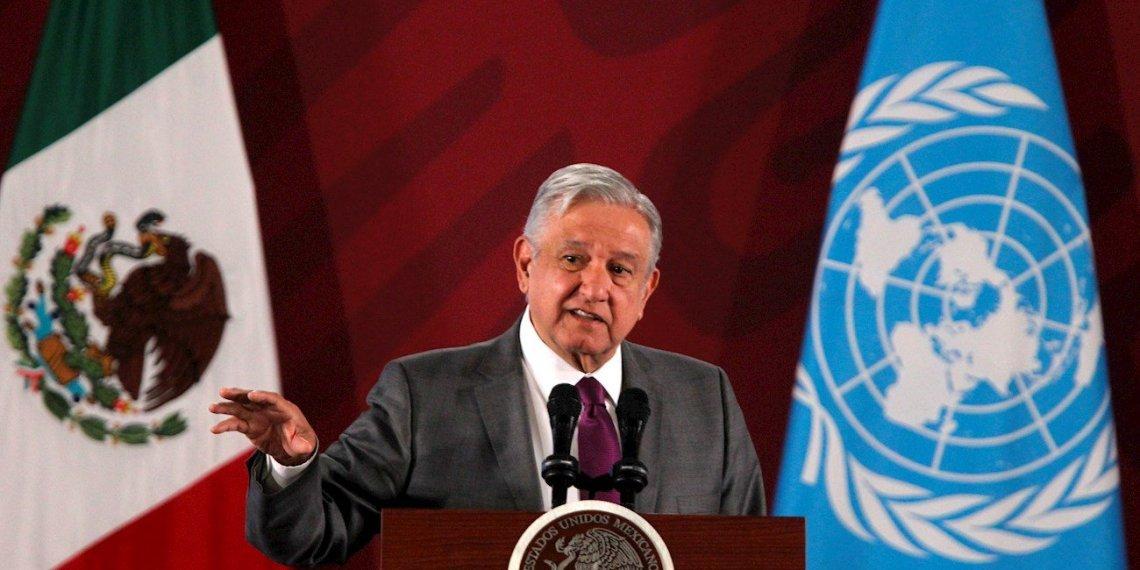 El presidente de México, Andrés Manuel López Obrador. Foto: EFE/ Mario Guzmán.