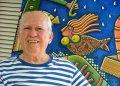 El pintor Alfredo Sosabravo cumplirá 90 años en octubre. Foto de Alain Gutiérrez, tomada de La Jiribilla.