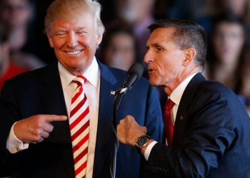Donald Trump y Michael Flynn. Foto: USA Today.