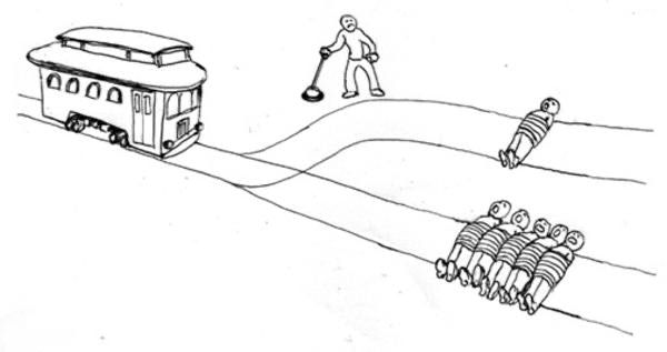 Trolley problems: should he pull the switch?