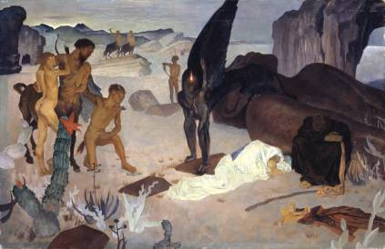 Repose on the Flight into Egypt 1922 Glyn Warren Philpot 1884-1937 Purchased 2004 http://www.tate.org.uk/art/work/T11861