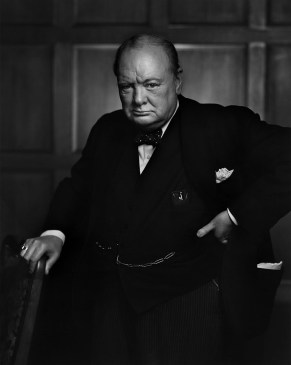 winston churchill by YK