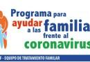 EL EQUIPO DE TRATAMIENTO FAMILIAR DE TOMARES PONE EN MARCHA UN PROGRAMA PARA AYUDAR A LAS FAMILIAS FRENTE AL CORONAVIRUS