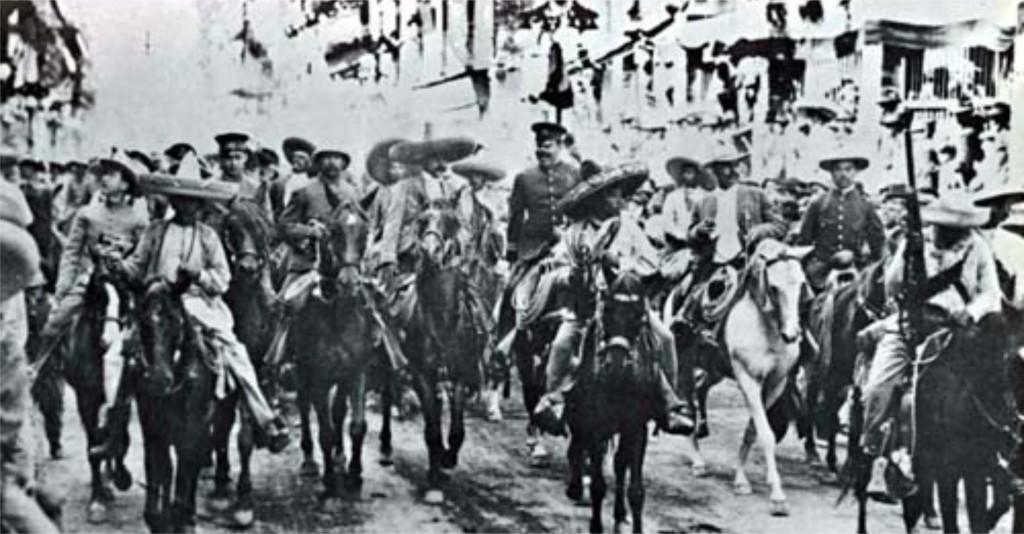 Emiliano Zapata y Villa en la Ciudad de México