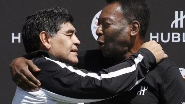 Pelé tras muerte de Maradona