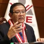 """Presidente del JNE: """"Es extraordinario"""" pedido de nulidad de 802 mesas de sufragio planteado por Fuerza Popular"""