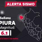 Un sismo de magnitud 6.1 se sintió esta tarde en Piura (fotos-videos)