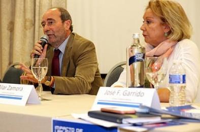 Manuel Robles y Pilar Zamora