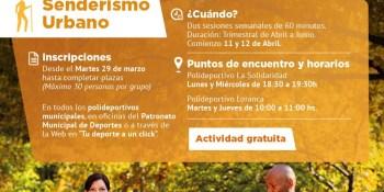 Senderismo Urbano, nueva oferta deportiva del Patronato de Deportes