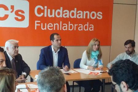 Reunión Ciudadanos en Fuenlabrada