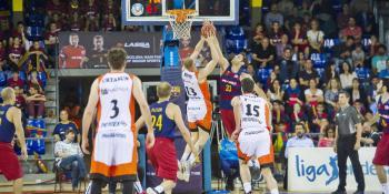 El Barça no da opción a un cansado Montakit Fuenlabrada