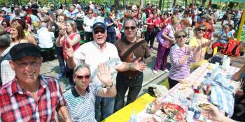 Fiesta de Mayores en Fuenlabrada