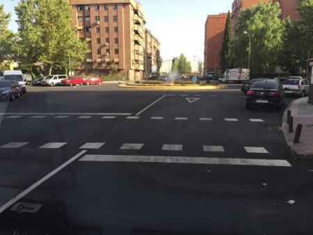 Nuevos pasos de peatones