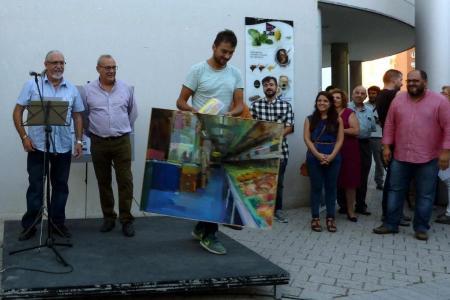 Primer premio Concurso Pintura