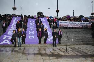 Fuelabrada muestra su respulsa contra la Violencia de Género