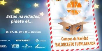 Llega un nuevo Campus de Navidad del Baloncesto Fuenlabrada