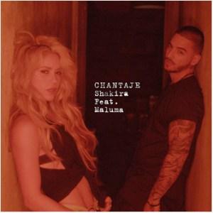 Shakira Publica 'Chantaje' junto a Maluma