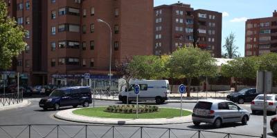 Glorieta calles Alicante y Murcia