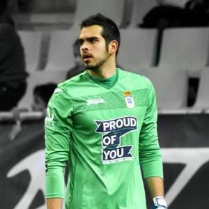 El portero en su época del Real Oviedo