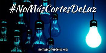 Foto: www.nomascortesdeluz.org