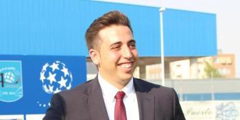 Jonathan Praena repasa la actualidad del CF. Fuenlabrada