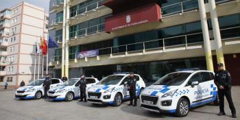 NUEVOS COCHES POLICIA