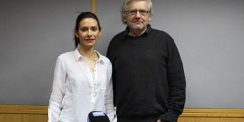 """Eugenio López nos visita acompañado de su hija para hablarnos de su último libro, """"Flores de barro"""""""