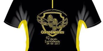 Presentamos en primicia la nueva camiseta de la Carrera CorreCaminos