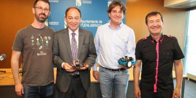 Fuenlabrada se convierte en la capital de la robótica