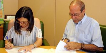 Firma convenio Ayto-Consejo Juventud