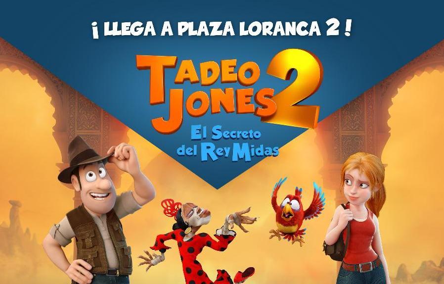 Kết quả hình ảnh cho Tadeo Jones 2: El secreto del Rey Midas (2017)