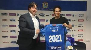 Luis Milla se compromete hasta 2021