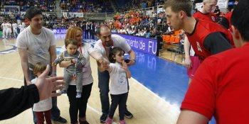 Niños con autismo van a entrenar con el Baloncesto Fuenlabrada