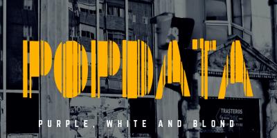 El Disco de Plata de este mes es Purple, White and Blond de la banda Popdata