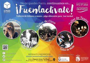 Talleres de circo, baile y danza para jóvenes en Fuenlabrada