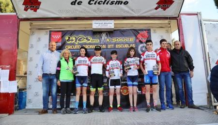 El ciclismo de Fuenlabrada es protagonista en el Campeonato de Madrid de escuelas