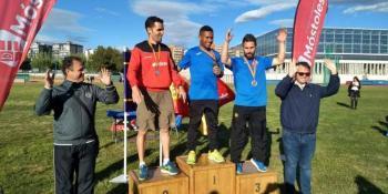 David Muñoz consigue la medalla de bronce en el Campeonato de España para Sordos