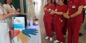 Campaña para una correcta higiene de manos desde el Hospital de Fuenlabrada