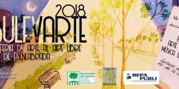 Feria del Arte al aire libre en BulevArte