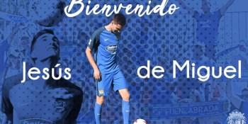 Jesús de Miguel se convierte en nuevo jugador del CF. Fuenlabrada