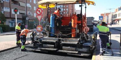 Arranca la Operación Asfalto en treinta calles de Fuenlabrada