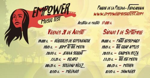 El Festival Empower Music Fest saca 1.000 abonos gratuitos más