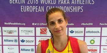 La fuenlabreña Sara Martínez se proclama campeona de Europa de atletismo adaptado