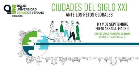 El Centro Cívico La Serna acoge la X Universidad Verde de Verano de Equo