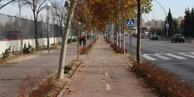 El carril bici de Fuenlabrada unirá los parques de la Solidaridad y El Olivar