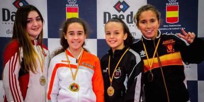 Más medallas para el Club Seiken Do en la Liga Nacional de karate