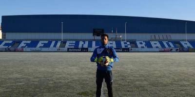 El CF Fuenlabrada ficha al portero argentino Ezequiel Navarro Montoya