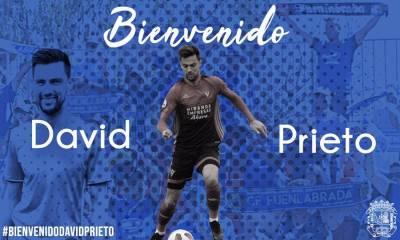 David Prieto llega al CF. Fuenlabrada hasta final de temporada