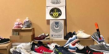 La Policía Local de Fuenlabrada incauta 12.000 artículos falsificados en el Cobo Calleja
